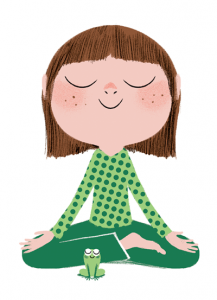 nina-meditando